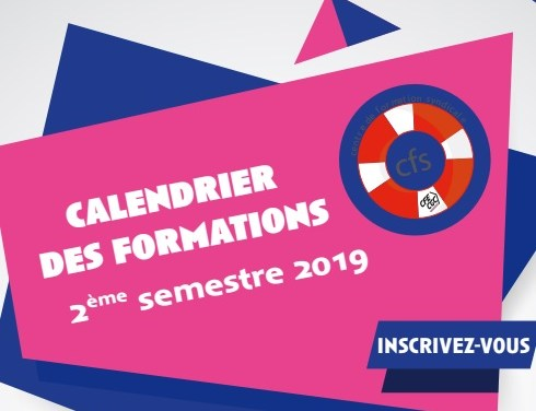 Centre de Formation Syndicale (CFS) : Calendrier des formations du Second semestre 2019