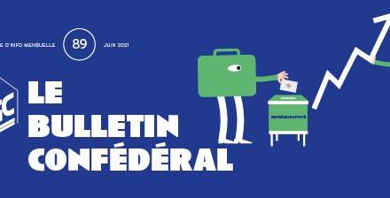 Bulletin confédéral n°89 – Juin 2021