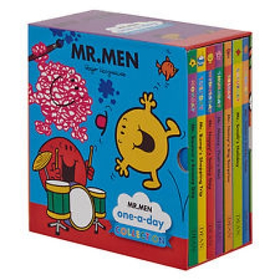 Mr Men Childrens Stories 7 Books Collection Box Set Mr