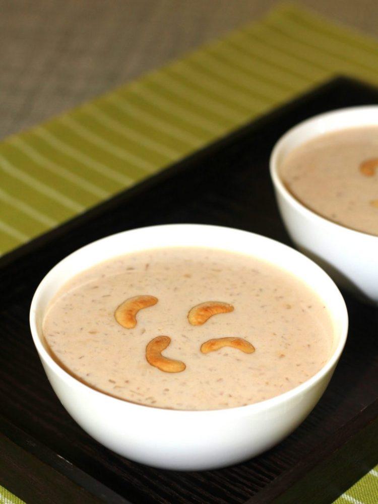 Caramel White Chocolate Palada Payasam