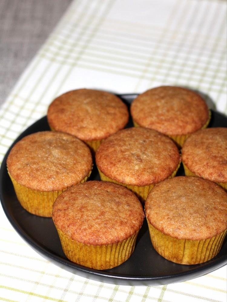 Banana cupcakes 1