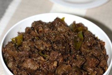 Beef pepper roast