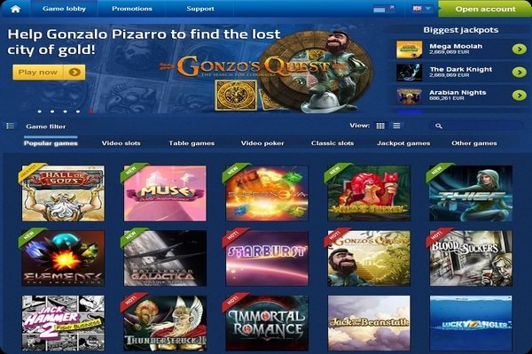 EuroSlots 20 Free Spins No Deposit Required
