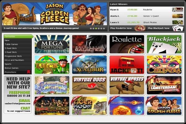 A Review Of Stan James Casino And Sports Betting