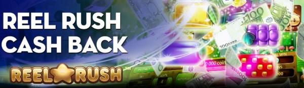 CasinoEuro - Reel Rush Cash Back