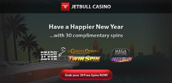 JetBull Casino 30 Free Spins