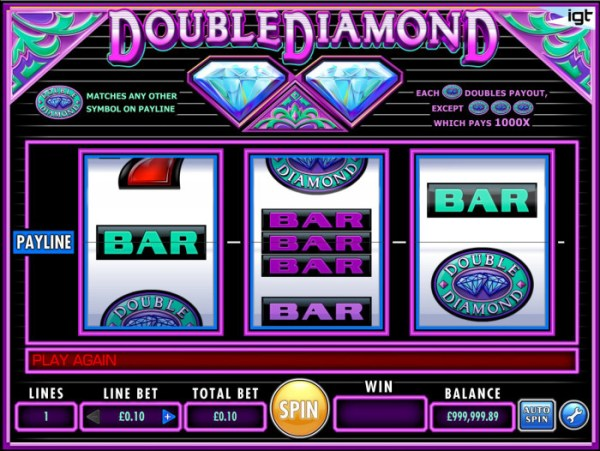 Double Diamond IGT Slot