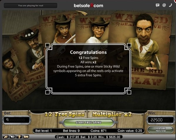 Betsafe Casino Big Win Dead or Alive Slot