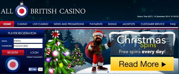 All British Casino Advent Calendar