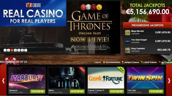 BetAt Casino 25 Free Spins No Deposit