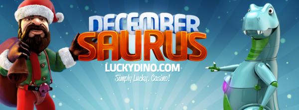 Lucky Dino Casino Advent Calendar