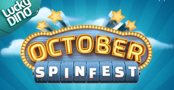Lucky Dino Casino October Spinfest
