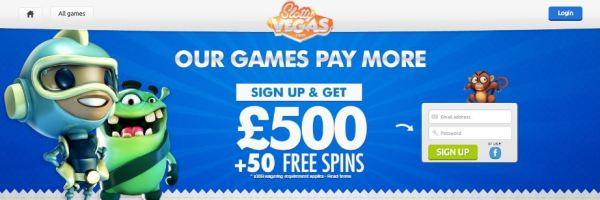 Slotty Vegas Casino Free Spins