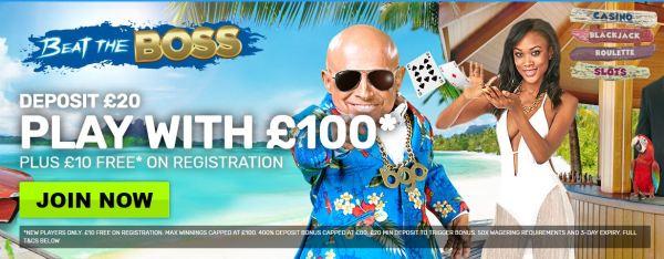 BGO Casino 400% Bonus