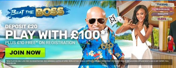 10 pounds no deposit casino