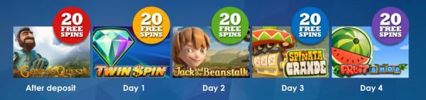 Slotsmillion Casino Free Spins