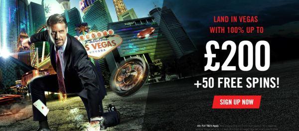 Vegas Hero Welcome Bonus
