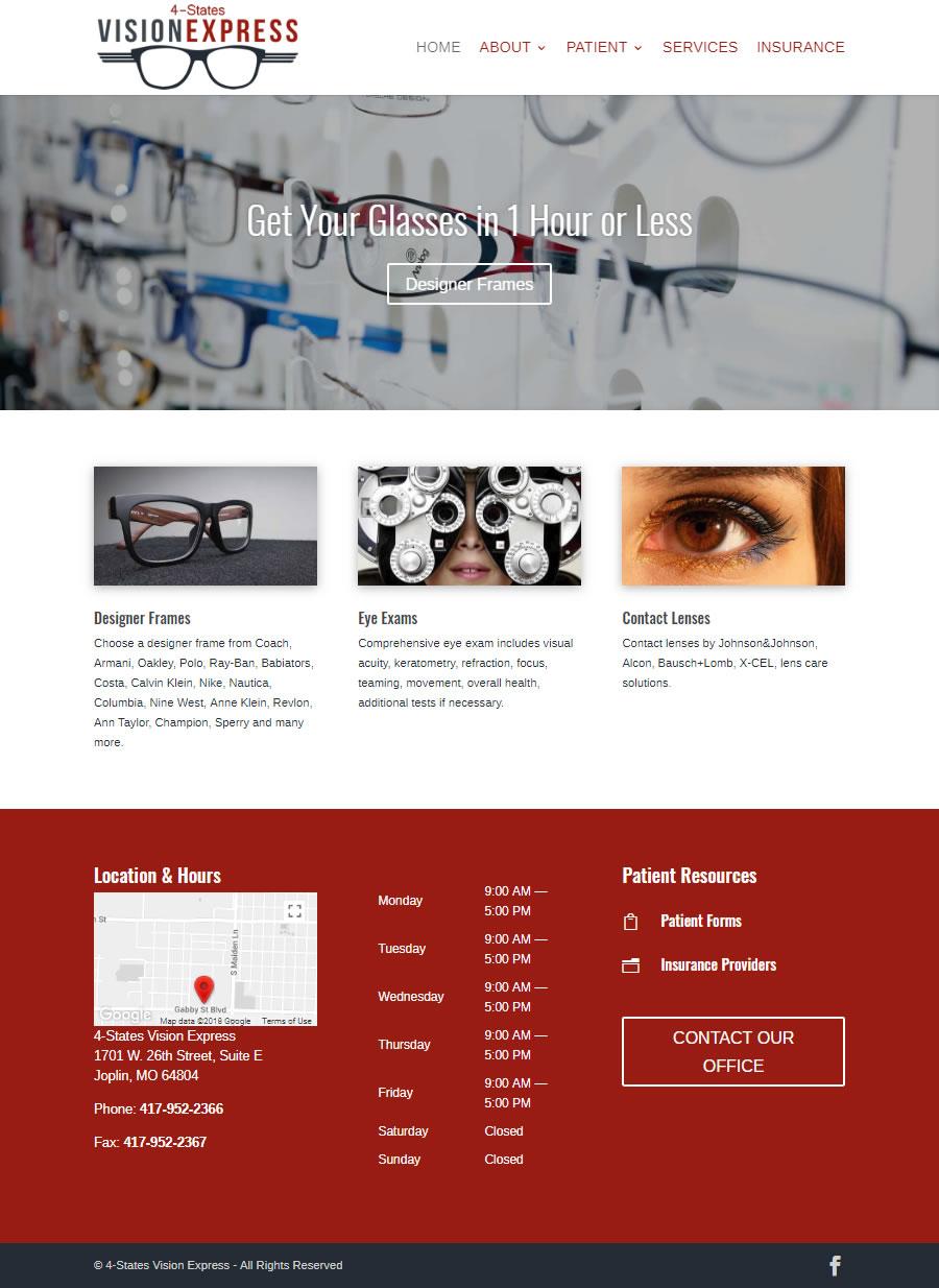 Joplin MO Healthcare Website Design