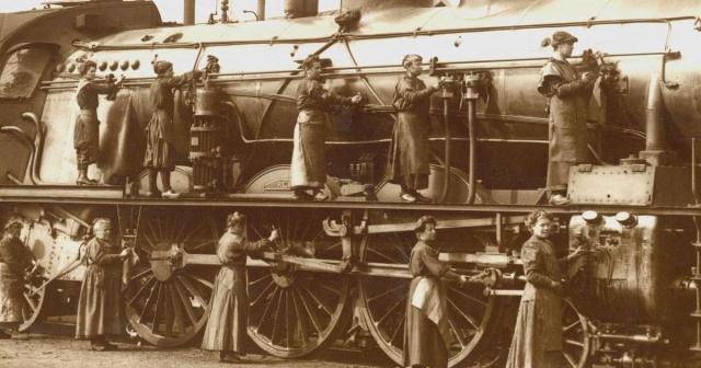 Les cheminotes, histoire d'une conquête