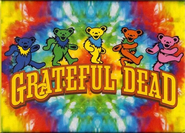 Grateful Dead - Dancing Bears (Tye Die).