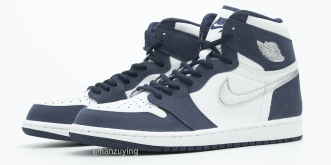 Sneaker Release: Air Jordan 1 High OG CO.JP - Midnight Navy (DC1788-100)