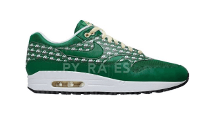 Nike Air Max 1 PRM - Powerwall Green Lemonade - Pine Green