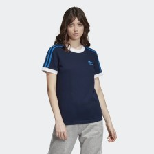 adidas Originals 3-Stripes Tee - Γυναικεία Μπλούζα (9000032501_7646)