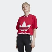 adidas Originals Cropped Tee - Γυναικείο Crop Top (9000033312_28154)