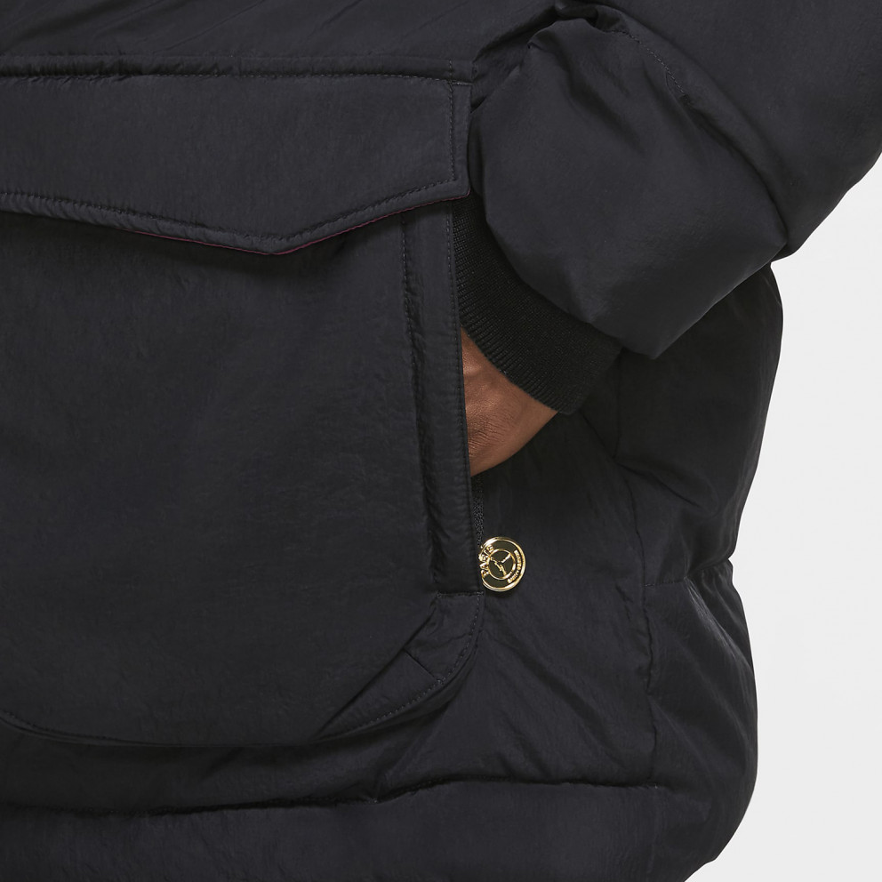 jordan x psg men s parka jacket