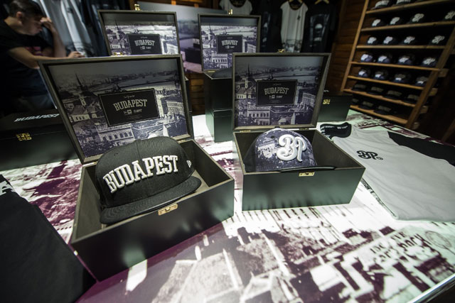 "New Era x BP Clothing ""Budapest"" sapkák"