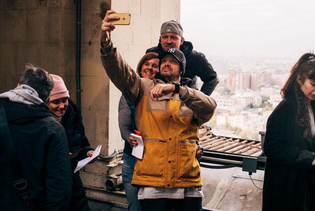 A magyar csapat: Anita, Ákos és én :D
