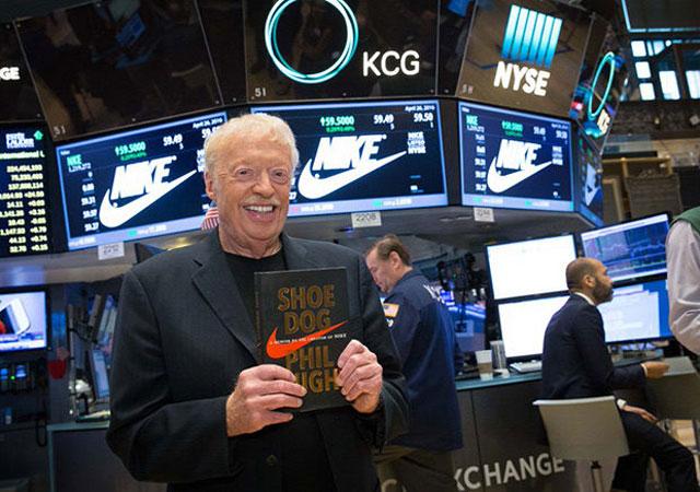 Phil Knight A Nike-sztori (Shoe Dog) - könyvajánló