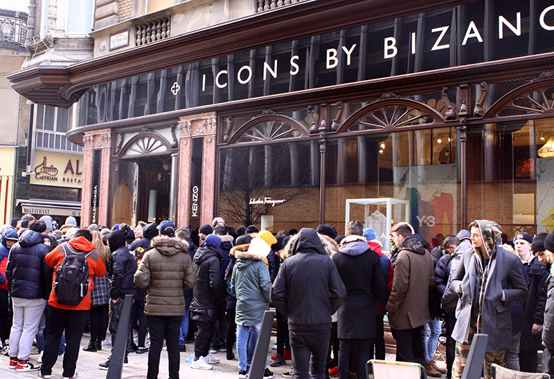 adidas yeezy boost 350 v2 release @ Icons by Bizanc