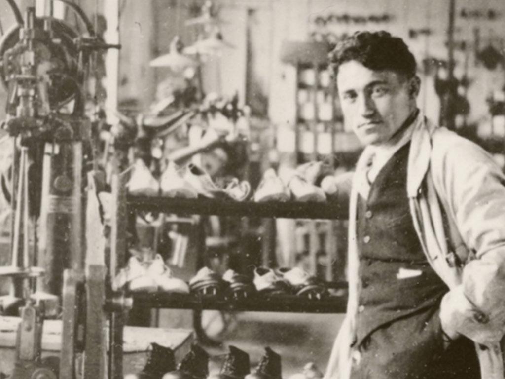 Adolf 'Adi' Dassler a Gebrüder Dassler Schuchfabrik társalapítója