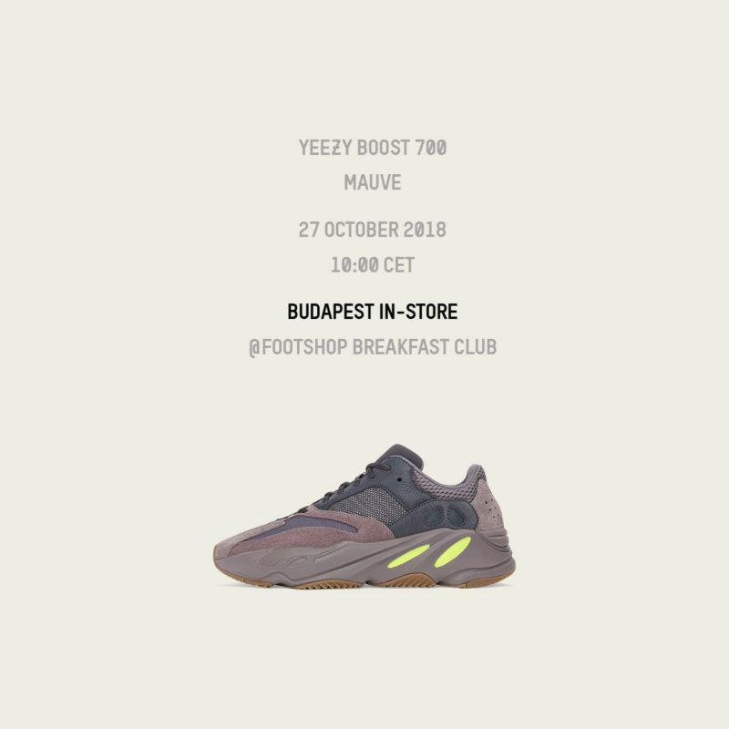 Footshop Breakfast Club presents: YEEZY 700 Mauve