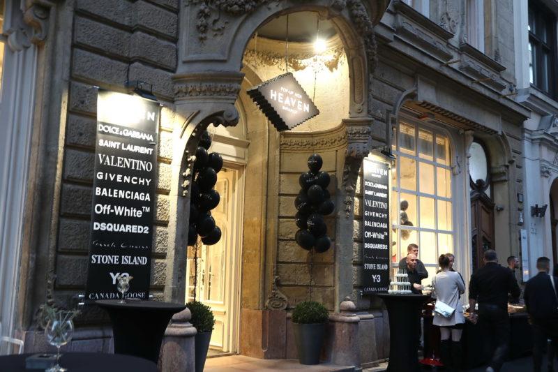 Vakolatlan falak és luxusmárkák: megnyílt a HEAVEN Men Pop Up