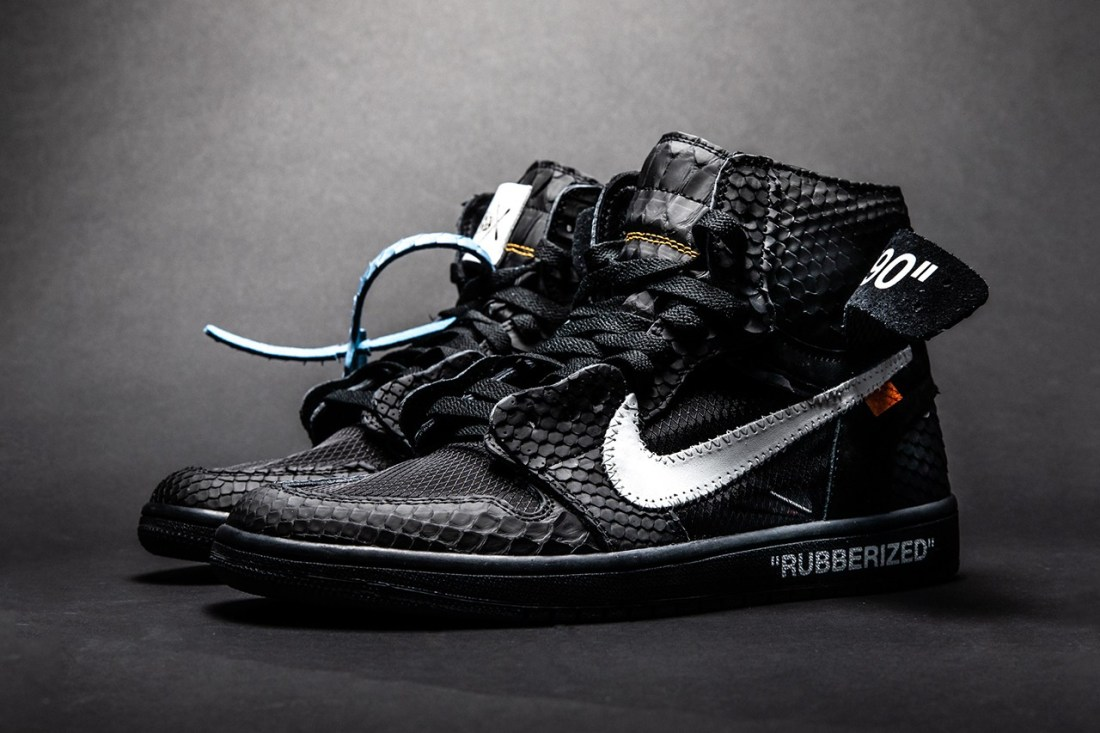 "The Shoe Surgeon x Air Jordan 1 ""Lux"" Rubberized Python"