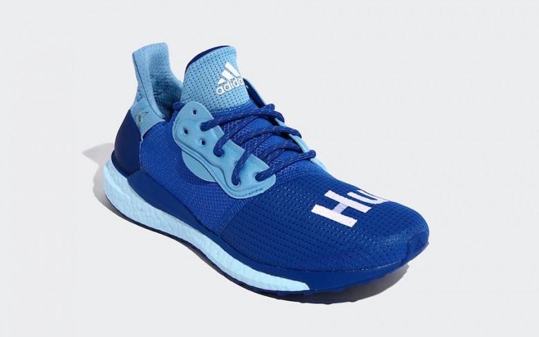 Pharrell X Adidas Solar Hu Glide Power Blue