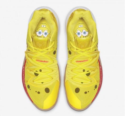 SpongeBob SquarePants X Nike Kyrie 5 SpongeBob