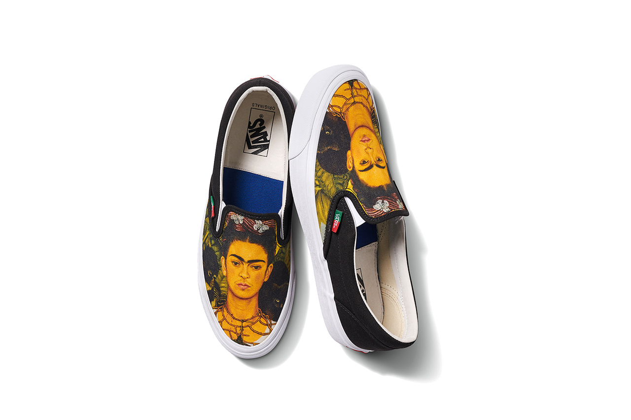 Frida Kahlo slip-on