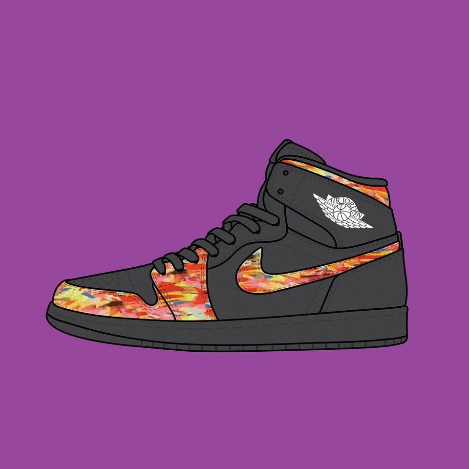 """Nike Air Jordan 1 """"Brooklyn nets City Edition"""""""