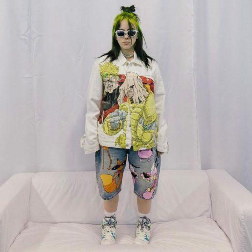 Billie Eilish és az emlegetett deviáns öltözködés / méret:42.5