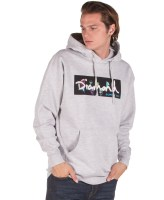 DIAMOND SUPPLY COLORS BOX LOGO HOODIE DIAMC19DMPF002-HTGR Γκρί