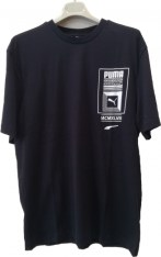 Puma PUMA LOGO TOWER TEE 575129-01 Μαύρο 2018