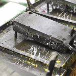 PU mold on the conveyor line