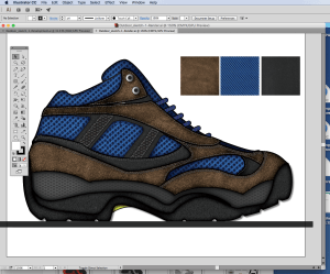 You can draw shoes