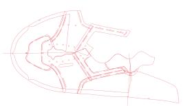 Flat Pattern for running shoe