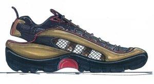 Shoe Design Rendering