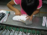shoe making process