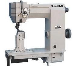 Post sewing machine